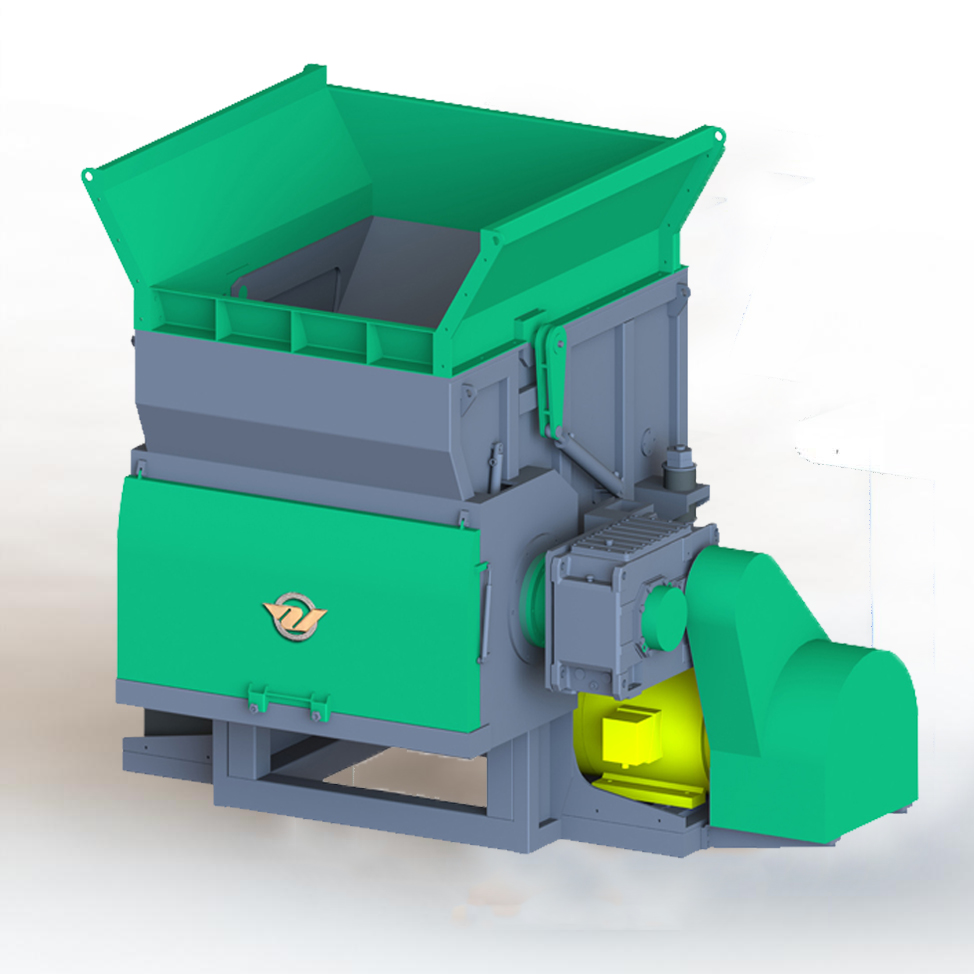 M Series Single Shaft Shredder