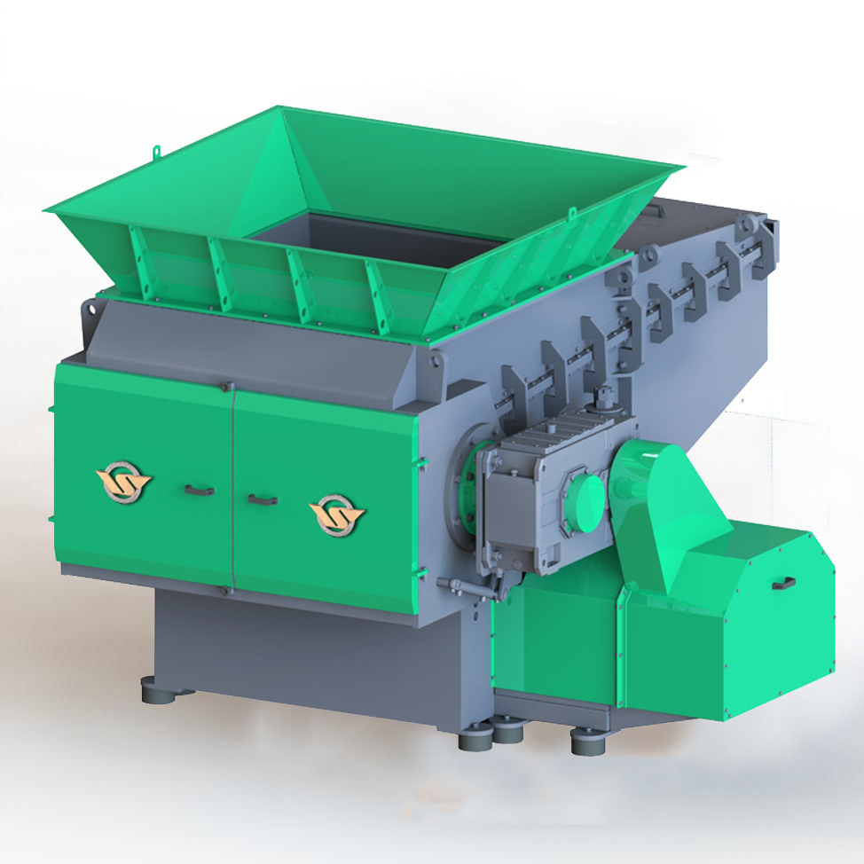 T Series Single Shaft Shredder