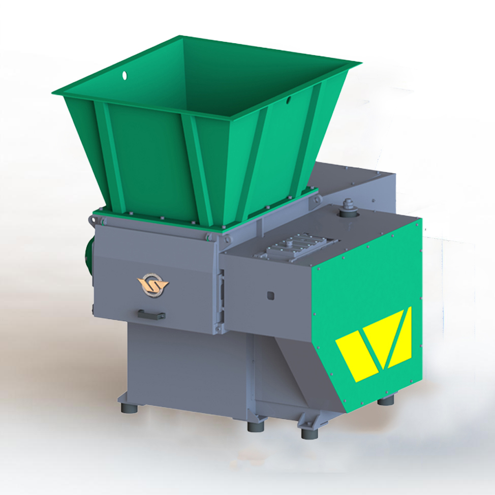 P series Single shaft shredder